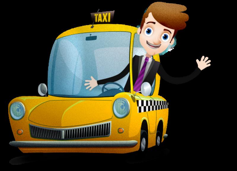 Открытки днем, таксист в картинках для детей
